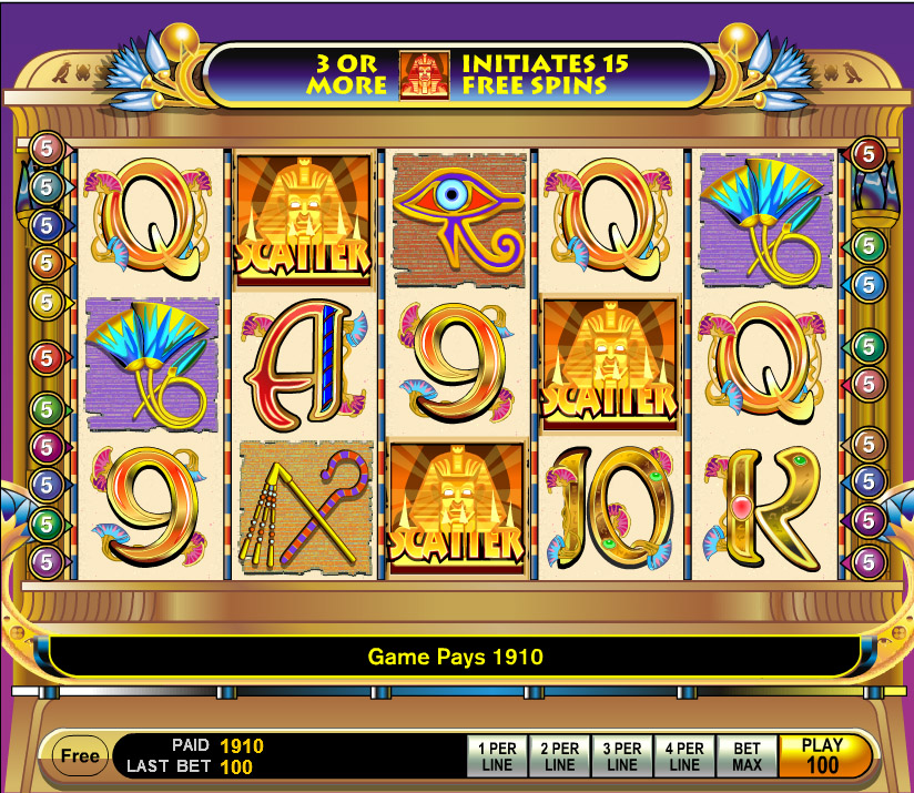Casino slots house edge